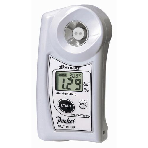 Цифровой карманный измеритель соли PAL-SALT Mohr